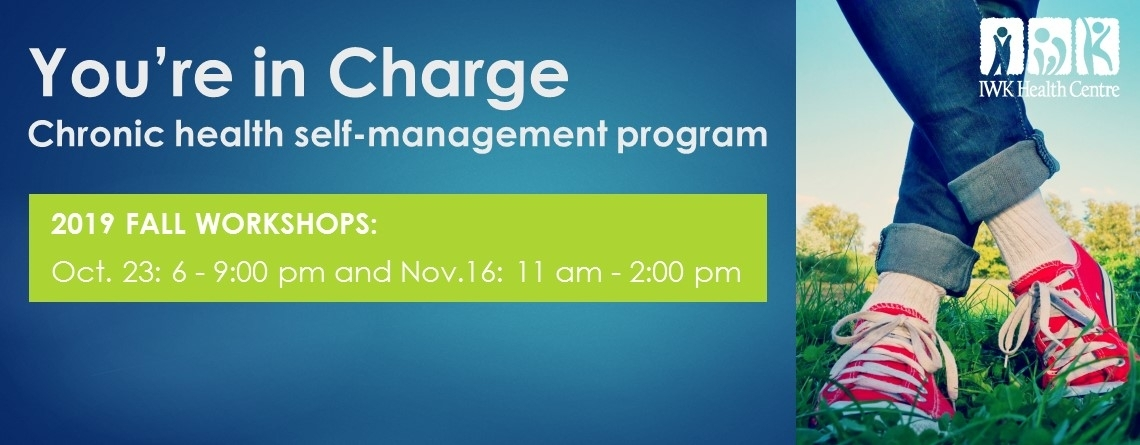 You're in Charge fall workshops