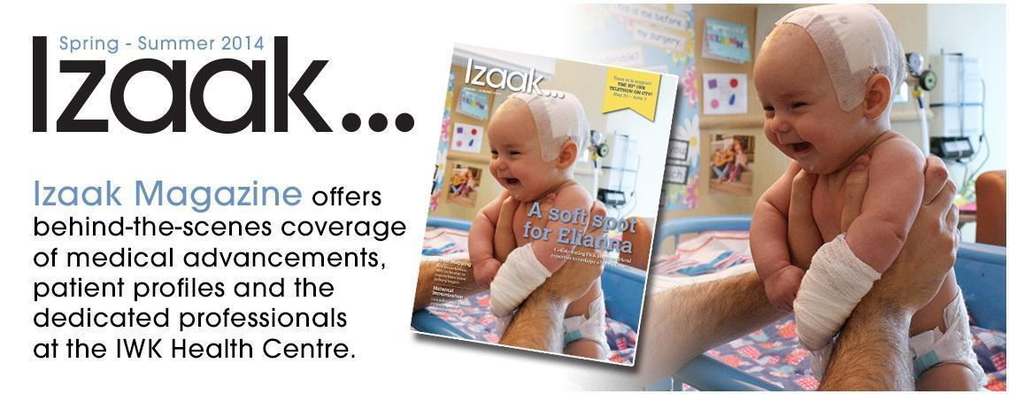 Spring - Summer 2014 edition of Izaak now available!