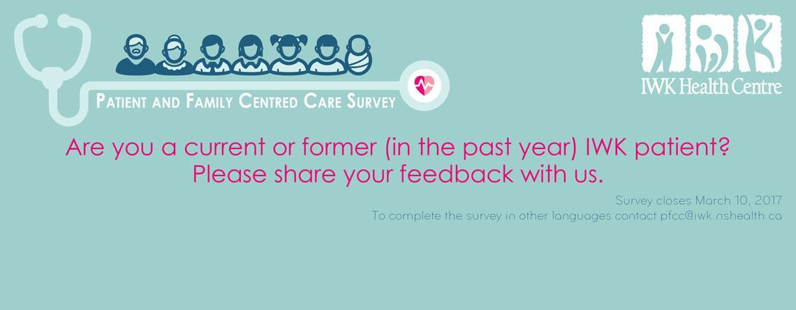 2017 Patient and Family Centred Care Survey