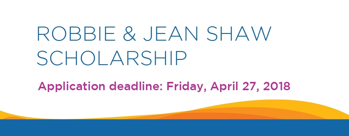 Robbie and Jean Shaw Scholarship